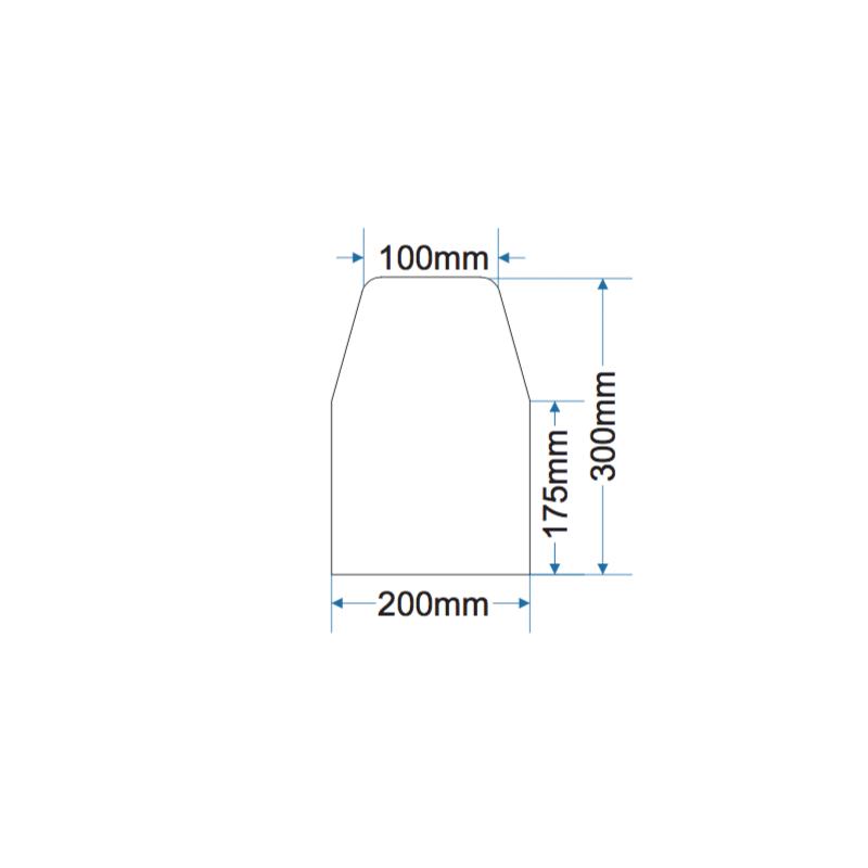 Divider Kerb - 130kg