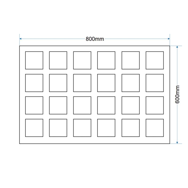 Cobble Paver - 800x600x120
